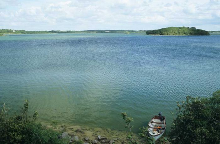 Heneghan's Bay, Lough Carra by Lynda Huxley