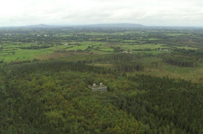 Moorehall Aerial View By Lynda Huxley
