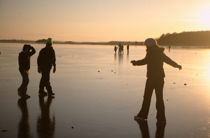 Winter 09-10, Moorehall, Lough Carra by Patrick O'Reilly, Carra Boat Hire