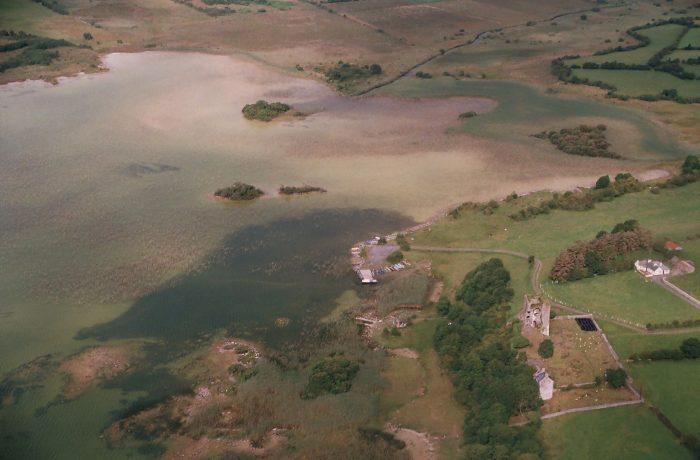 Castle Burke and Ballintubber Stream (2004) By Lynda Huxley