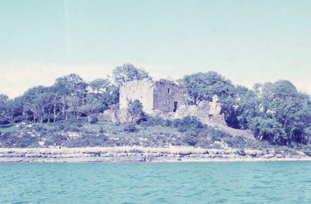 Castle Carra, August 1975 by Jonathan Shackleton