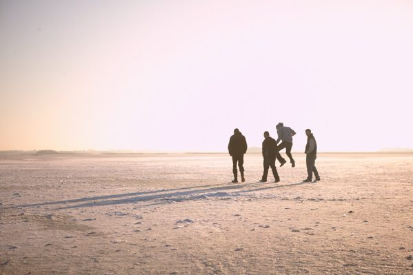Frozen Lough Carra Winter 09-10 by Patrick O'Reilly, Carra Boat Hire