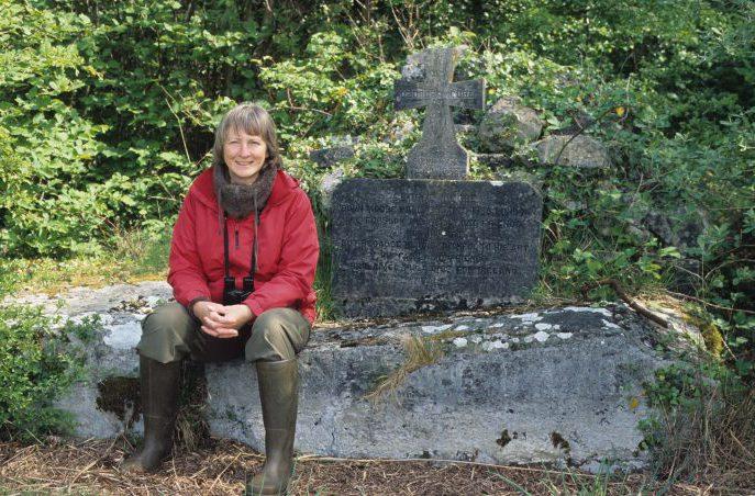 George Augustus Moore's grave, April 2011 by Chris Huxley