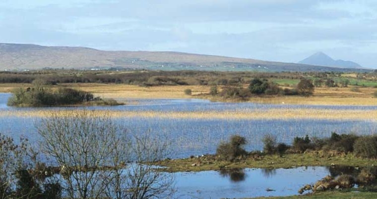 View from Castle Burke, Lough Carra