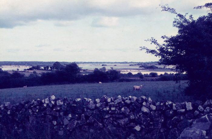 View of lake at Kilkeeran (north of village), August 1975 by Jonathan Shackleton