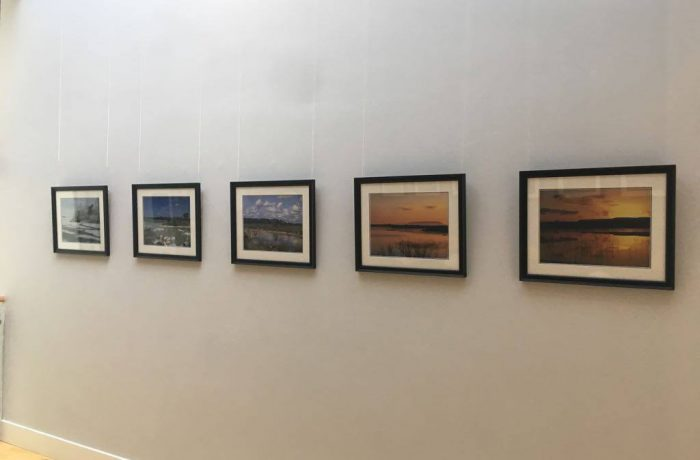 Lynda Huxley's photographs at the Ballycroy Visitor Centre Exhibition