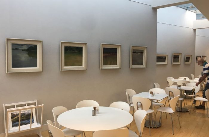Dierdre Walsh's Exhibition of artwork in August 2018 at the Ballycroy Visitor Centre