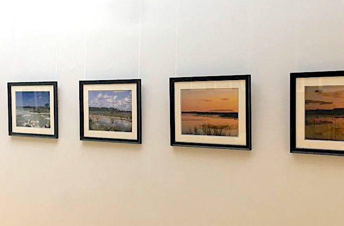 Photographs by Lynda Huxley at the Ballycroy Visitor Centre Exhibition